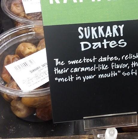 Sukkary Dates With Description